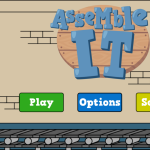 AssembleIt Menu Screen