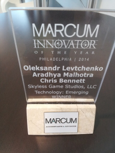 Marcum Innovator of the Year Award